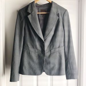 The Limited Gray Double Button Blazer Size 6